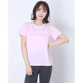 レディース 半袖機能Tシャツ WMHCAPLINTシャツ GQ0580 (ピンク)