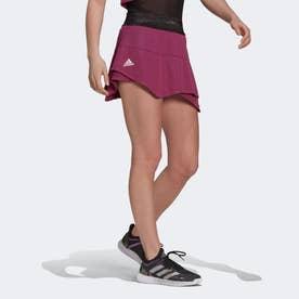テニス  PRIMEBLUE マッチ スカート / Tennis Primeblue Match Skirt (レッド)