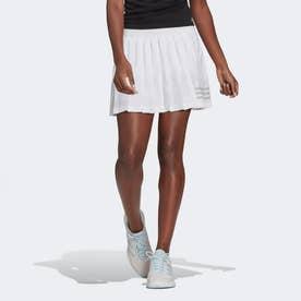 クラブ テニス プリーツスカート / Club Tennis Pleated Skirt (ホワイト)