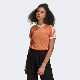 アディカラー クラシックス 3ストライプ 半袖Tシャツ (レッド)