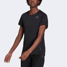 HEAT. RDY 半袖ランニングTシャツ (ブラック)