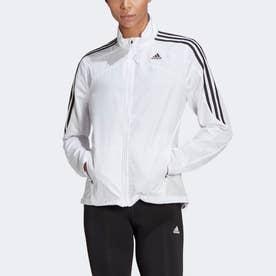 マラソン 3ストライプス ジャケット / Marathon 3-Stripes Jacket (ホワイト)