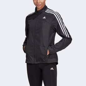 マラソン 3ストライプス ジャケット / Marathon 3-Stripes Jacket (ブラック)