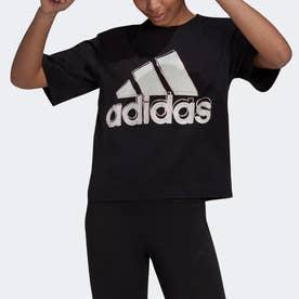 ビッグロゴ 半袖Tシャツ (ブラック)