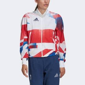 イギリス代表 ポディウム ジャケット / Team GB Podium Jacket (ホワイト)
