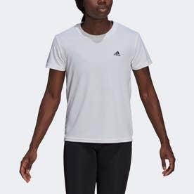 AEROREADY デザインド トゥ ムーブ スポーツ 半袖Tシャツ / AEROREADY Designed 2 Move Sport Tee (ホワイト)