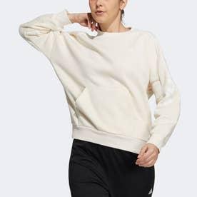 スポーツウェア スウェットシャツ (ホワイト)