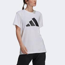 スポーツウェア フューチャー アイコン ロゴ グラフィック 半袖Tシャツ (ホワイト)