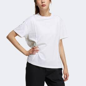 テック リボン 半袖Tシャツ / Tech Ribbon Tee (ホワイト)