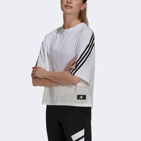 スポーツウェア フューチャー アイコン スリーストライプス 半袖Tシャツ (ホワイト)