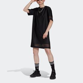 Tシャツワンピース (ブラック)