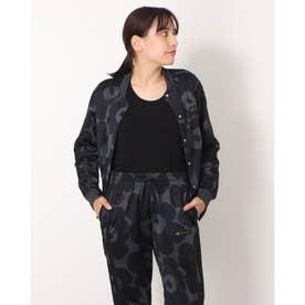 レディース 長袖ジャージジャケット VARJKTW GS2696 (ブラック)