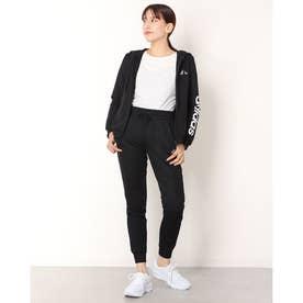 <adidas>スウェットトラックスーツ (ブラック)