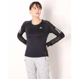レディース 陸上/ランニング 長袖Tシャツ OTR LS TEE W GL7984 (ブラック)