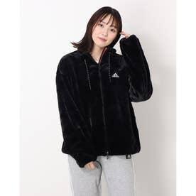 レディース フリースジャケット WSTYLEファージャケット H07395 (ブラック)