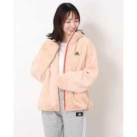 レディース フリースジャケット WSTYLEファージャケット H07394 (ピンク)