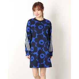 W MARIMEKKO スウェットドレス (ブルー)
