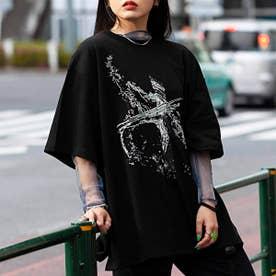SPLASH AVANTGARDE T-SHIRT (BLACK)