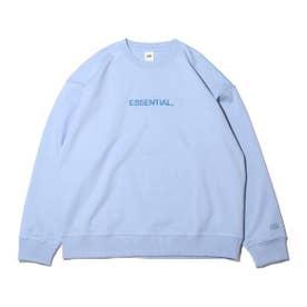 ESSENTIAL LOGO SWEATSHIRT (BLUE)