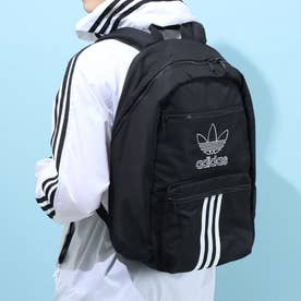 National 3-stripe Back Pack (Black/White)