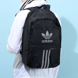 Reflective 3-Stripes Backpack (Black/Reflenctive Silver)