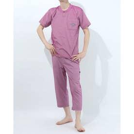 アダバット リラックスウェア アンダーウェア 半袖ニットパジャマ (ピンク)
