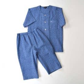 アダバット リラックスウェア アンダーウェア LL)衿なし半袖七分袖パジャマ (コン)