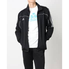 Track Suit Jacket (Black/White)