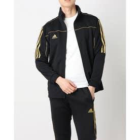 Track Suit Jacket (Black/Gold)