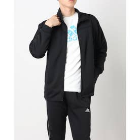 Track Suit Jacket (Black/Black)