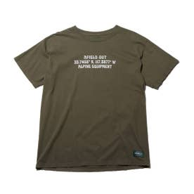 OFF AXIS T-SHIRT (OLIVE)