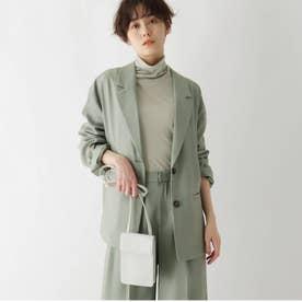【AG by Karen】コラボリラックスシルエットセットアップジャケット (オリーブグリーン)