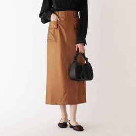 シャイニータイトスカート (キャメル)