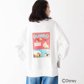 Dumbo/ヴィンテージアートスウェット (ホワイト)
