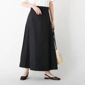 チノフレアデザインスカート【WEB限定サイズ】 (ブラック)