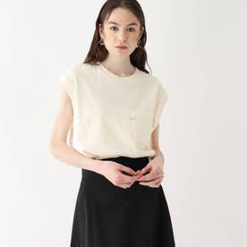 Leeコラボ 刺繍ノースリーブTシャツ【WEB限定サイズ】 (オフホワイト)