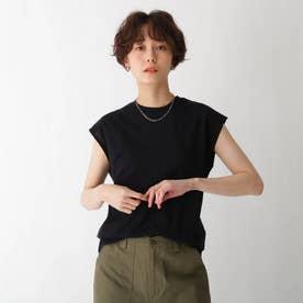 パイルフレンチTOPS【WEB限定サイズ】 (ブラック)