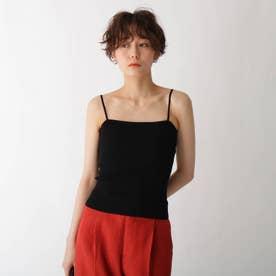 ニットキャミトップス【GISELeコラボ商品】 (ブラック)