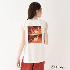 『美女と野獣』ノースリTシャツ 限定アイテム (ホワイト)