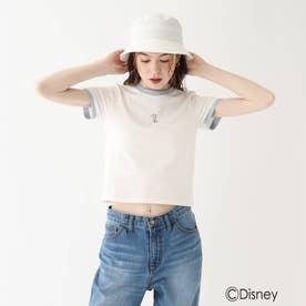 『美女と野獣』バイカラーミニTシャツ 限定アイテム (ライトブルー)