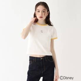 『美女と野獣』バイカラーミニTシャツ 限定アイテム (イエロー)