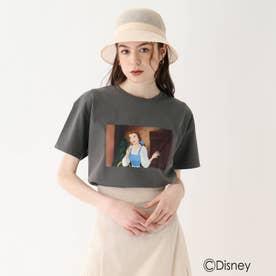『美女と野獣』プリントTシャツ 限定アイテム【WEB限定サイズ】 (ガンメタリック)