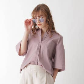 イリデンスシアーシャツ (ピンク)