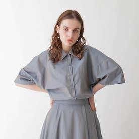 イリデンスシアーシャツ (ライトブルー)
