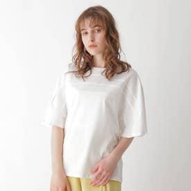 切替デザインドルマンTシャツ【WEB限定サイズ】 (ホワイト)