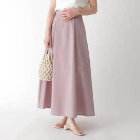 イリデンスシアーフレアスカート【WEB限定サイズ】 (ピンク)