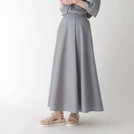 イリデンスシアーフレアスカート【WEB限定サイズ】 (ライトブルー)
