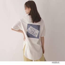 【別注】ゴドリスロゴTシャツ (ホワイト)