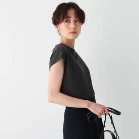 コットン天竺フレンチTシャツ【WEB限定サイズ】 (ガンメタリック)