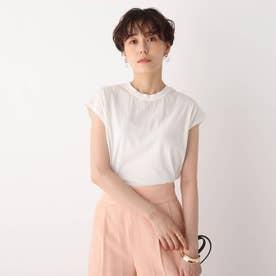 コットン天竺フレンチTシャツ【WEB限定サイズ】 (ホワイト)